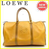 ■管理番号:J16755  【商品説明】 ロエベ【LOEWE】の  ボストンバッグです。 定番人気の...