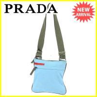 ■管理番号:J16897  【商品説明】 プラダ【PRADA】の  ショルダーバッグです。 定番人気...
