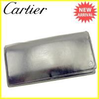 ■管理番号:J17153  【商品説明】 カルティエ【Cartier】の  長財布です。 高級感のあ...
