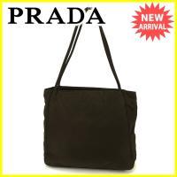 ■管理番号:J17204  【商品説明】 プラダ【PRADA】の  トートバッグです。 定番人気のト...