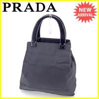 ■管理番号:J18328  【商品説明】 プラダ【PRADA】の  ハンドバッグです。  ◆ランク ...