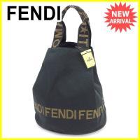 ■管理番号:J19545  【商品説明】 フェンディ【FENDI】の  トートバッグです。 オシャレ...