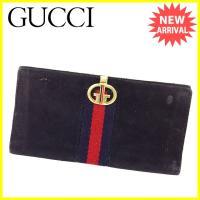 ■管理番号:L1370  【商品説明】 グッチ【GUCCI】の 「オールドグッチ」 長財布です。 定...