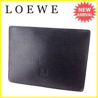 ■管理番号:L1669  【商品説明】 ロエベ【LOEWE】の  クラッチバッグです。  ◆ランク ...