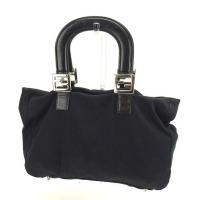 ■管理番号:P216  【商品説明】 フェンディの  ハンドバッグです。 ブランドの象徴的なFFプレ...