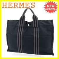 ■管理番号:P371  【商品説明】 エルメス【HERMES】の フールトゥトートMM トートバッグ...