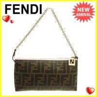 ■管理番号:Q102  【商品説明】 フェンディの  ハンドバッグです。 定番人気のズッカ柄☆ちょっ...