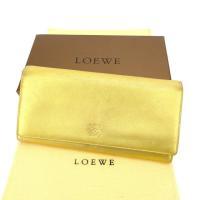 ■管理番号:Q281  【商品説明】 ロエベの  長財布です。 定番人気のアナグラムマーク入り☆収納...