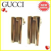 ■管理番号:T1303  【商品説明】 グッチ【Gucci】の  ピアスです。 合わせやすいシルバー...