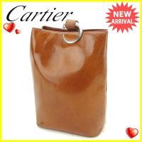 ■管理番号:T1691  【商品説明】 カルティエ【Cartier】の  ショルダーバッグです。 高...