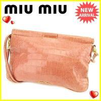 ■管理番号:T2116  【商品説明】 ミュウミュウ【miu miu】の  ショルダーバッグです。 ...