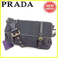 ■管理番号:T2326  【商品説明】 プラダ【PRADA】の  ショルダーバッグです。 定番人気の...