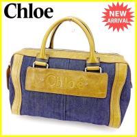 ■管理番号:T2876  【商品説明】 クロエ【Chloe】の  ハンドバッグです。 男女ともにお使...
