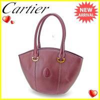 ■管理番号:T2896  【商品説明】 カルティエ【Cartier】の  ショルダーバッグです。  ...