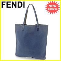 ■管理番号:T303  【商品説明】 フェンディ【FENDI】の  トートバッグです。 とってもシン...