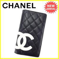 ■管理番号:T3048  【商品説明】 シャネル【CHANEL】の  長財布です。  ◆ランク 【6...