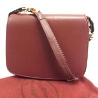 ■管理番号:T329  【商品説明】 カルティエ【Cartier】の  ショルダーバッグです。 定番...