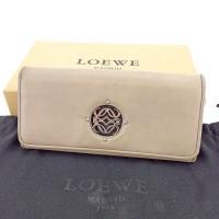 ■管理番号:T4560  【商品説明】 ロエベ【LOEWE】の  長財布です。 ブランドの象徴的なア...