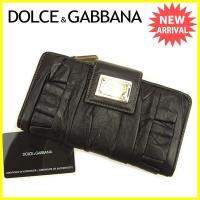 ■管理番号:T637  【商品説明】 ドルチェ&ガッバーナ【DOLCE & GABBANA】...