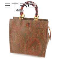 ■管理番号:T6701 【商品説明】 エトロ【ETRO】の  ハンドバッグです。 定番人気のペイズリ...