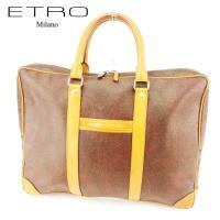■管理番号:T6968 【商品説明】 エトロ【ETRO】の  ビジネスバッグです。 定番人気のペイズ...