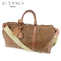 ■管理番号:T7361 【商品説明】 エトロ【ETRO】の ボストンバッグです。 定番人気のペイズリ...