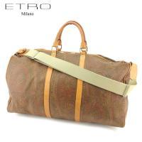 ■管理番号:T7694 【商品説明】 エトロ【ETRO】の ボストンバッグです。 定番人気のペイズリ...
