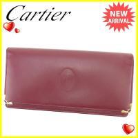 ■管理番号:T790  【商品説明】 カルティエ【Cartier】の  長財布です。 定番人気のマス...