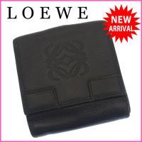 ■管理番号:B702  【商品説明】 ロエベの  Wホック財布です♪ 定番人気のアナグラムデザイン☆...