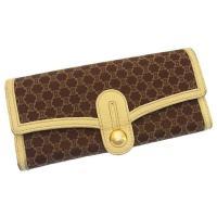■管理番号:G626 【商品説明】 セリーヌの  長財布です♪ 定番人気のエレガントなマカダム柄☆カ...