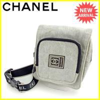 ■管理番号:J10933  【商品説明】 シャネルの 「スポーツライン」 ウエストバッグです。 定番...