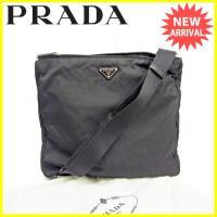 ■管理番号:J17140  【商品説明】 プラダ【PRADA】の  ショルダーバッグです。 定番人気...