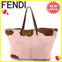 ■管理番号:L1190  【商品説明】 フェンディ【FENDI】の  トートバッグです。 高級なハラ...