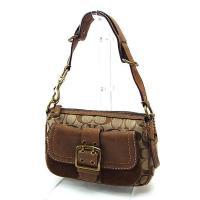 ■管理番号:P091  【商品説明】 コーチの 「ベルトデザイン」 ハンドバッグです♪ 定番人気のシ...