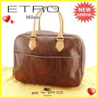 ■管理番号:Q430  【商品説明】 エトロ【ETRO】の  ハンドバッグです。 定番人気のペイズリ...