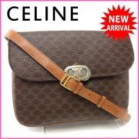 ■管理番号:Y2773  【商品説明】 セリーヌの  ショルダーバッグです♪ 定番人気の上品なマカダ...