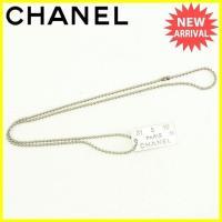 ■管理番号:Y4876  【商品説明】 シャネル【CHANEL】の  ネックレスです。  ◆ランク ...