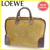 ■管理番号:Y6414  【商品説明】 ロエベ【LOEWE】の  ボストンバッグです。 定番人気のア...