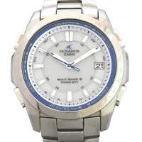 ブランド:カシオ 商品名:オシアナス ソーラー電波時計 ライン:OCEANUS(オシアナス) 型番:...