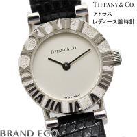 【送料無料】Tiffany&Co【ティファニー】アトラス レディース腕時計 電池式 クォーツ...