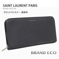 SAINT LAURENT PARIS 【サンローラン パリ】 ラウンドファスナー 長財布 3285...