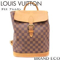LOUISVUITTON ルイヴィトン ダミエ アルルカン リュックサック バッグ 100周年記念限...