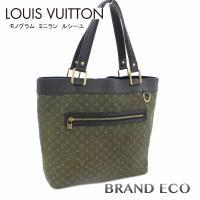LOUIS VUITTON【ルイ ヴィトン】 モノグラム ミニラン ルシーユGM トートバッグ M9...