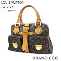 LOUIS VUITTON 【ルイヴィトン】 モノグラム ハンドバッグ マンハッタンGM M4002...