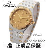 【送料無料】OMEGA【オメガ】コンステレーションメンズ腕時計【中古】1312.10クォーツ SS/...