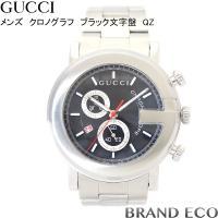 【送料無料】GUCCI 【グッチ】Gフェイス 101M クロノグラフデイト QZ SSメンズ 腕時計...