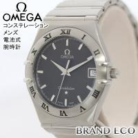 【送料無料】OMEGA【オメガ】コンステレーション メンズ 電池式 腕時計 アナログ デイト ステン...