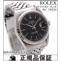 【送料無料】 ROLEX 【ロレックス】 デイトジャスト メンズ 腕時計 16234 自動巻き K1...