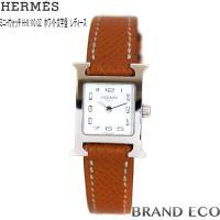 【送料無料】HERMES 【エルメス】 Hウォッチミニ レディース QZ 腕時計HH1.110 SS...