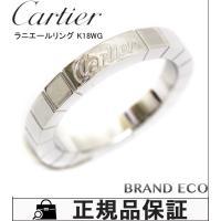 【送料無料】【新品仕上げ済み】 Cartier【カルティエ】ラニエール リング 約9号 K18WG ...